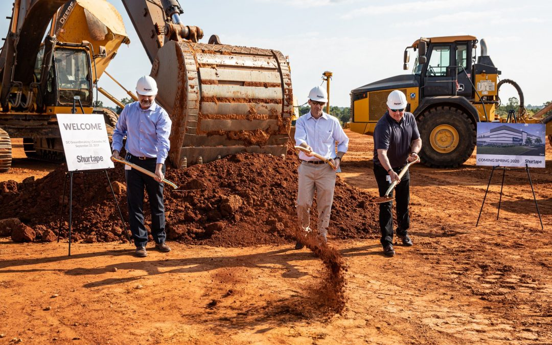 Shurtape Technologies Breaks Ground on New Distribution Center